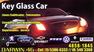 Key Glass Car